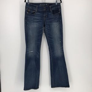 American Eagle Distressed Artist Jeans Size 6
